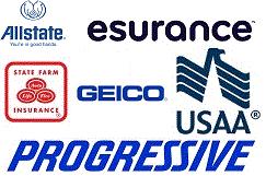 allstate-esurance-geico-progressive-usaa-statefarm-logos