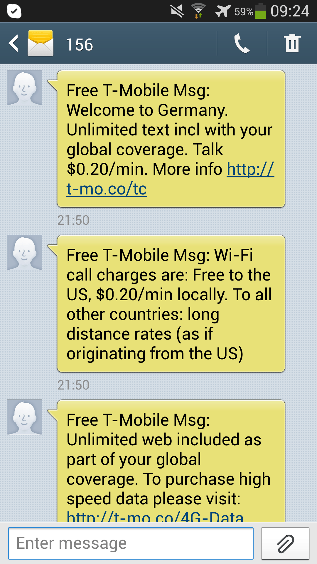 On My T-Mobile, click Usage for an Overview of your usages. For shared plans, click View Shared Usage Details. To see a specific line's usages, click the number under the Minutes or Data column.