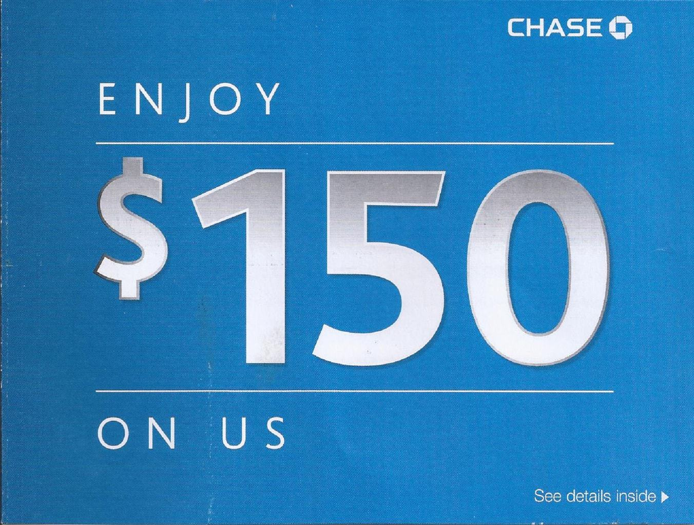 20% Annual Return Chase Checking Account