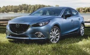 2015 Mazda 3 hatchback best price