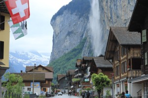 Invest now and enjoy the good life soon. Photo: Lauterbrunnen, Switzerland 2014
