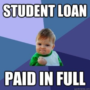 Student Loan: Paid in Full!