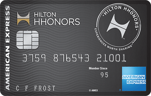 Hilton hhonors credit card deals