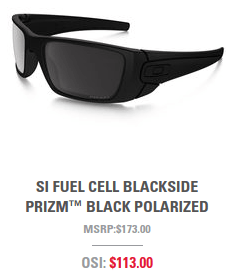Oakley Military Discount Fuel Cell Sunglasses