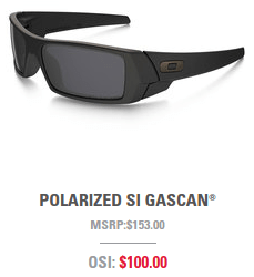 Oakley Standard Issue Polarized Gascan