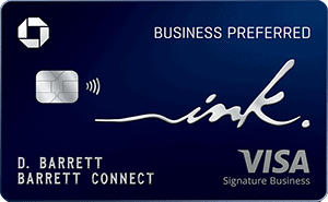 Chase Ink Business Preferred Veteran and Military