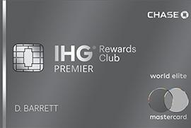 Chase IHG Rewards Club Premier Credit Card for Military (No Annual Fee, Free Night)