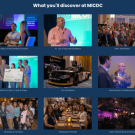 Military Influencers Conference 2019 (MICDC) Spouse Ticket Sponsorship