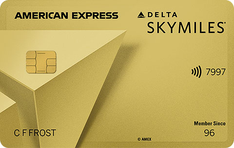 AMEX Delta Gold for Military and Spouses