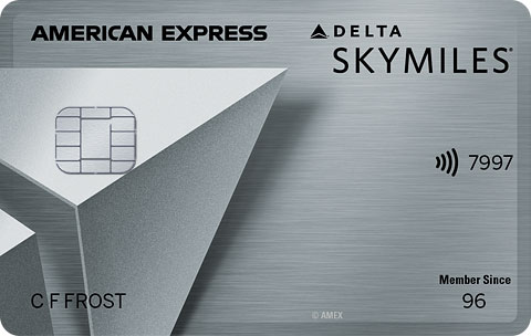 AMEX DELTA Platinum no annual fee for military