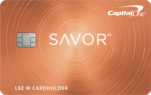 Capital one Savor Military