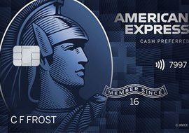 Blue Cash Preferred from American Express for Military ($95 Fee Waived)