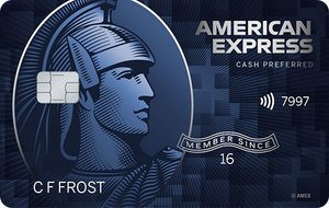 New AMEX Blue Cash Preferred NO ANNUAL FEE FOR MILITARY