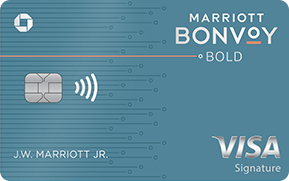 Chase Marriott Bonvoy Bold credit card for Military
