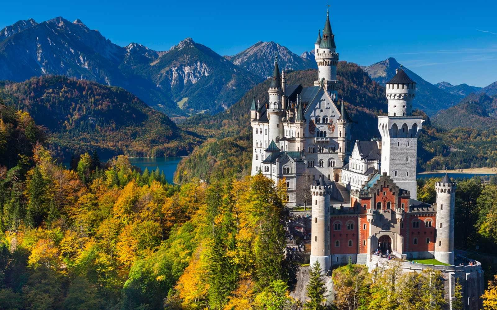 Neuschwanstein Castle Schloss Neuschwanstein