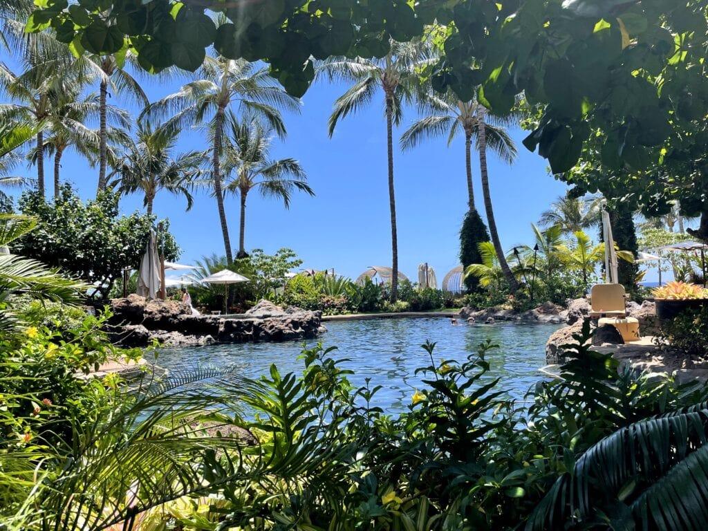 Four Seasons Lanai Family pool