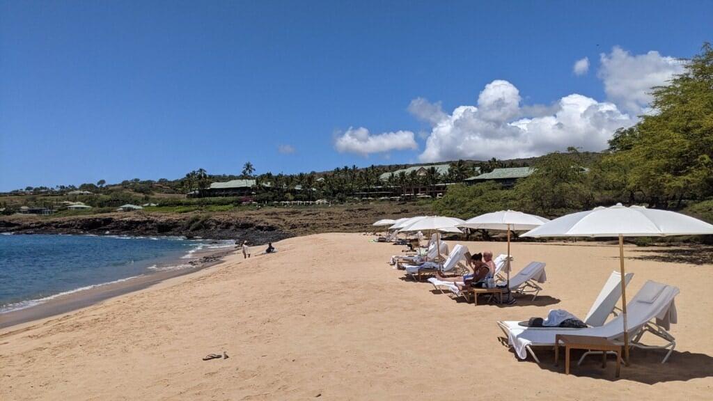 Four Seasons Resort Lanai Beach
