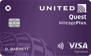 Chase United Quest Card for Military