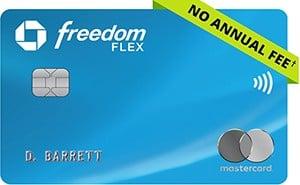 Chase Freedom Flex military